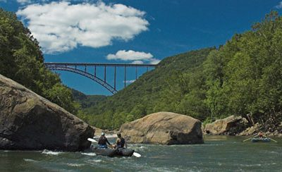 New River WV and VA